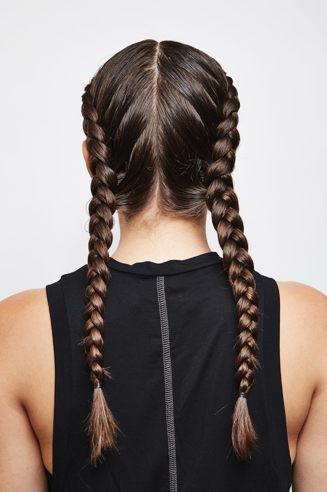 plaiting hair styles for hair 40 interesting plait hairstyles hairstylo 8045