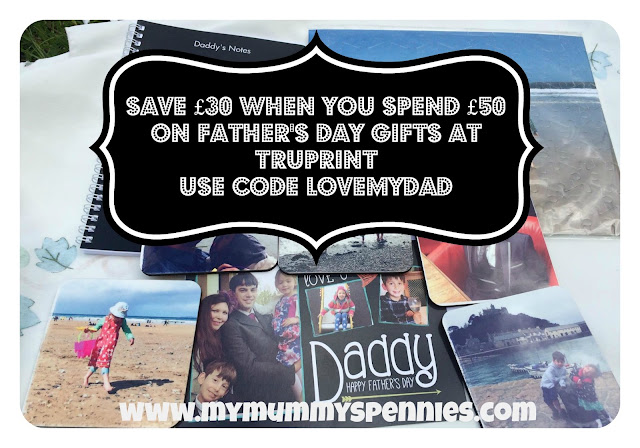 Save £30 on father's day gifts at Truprint