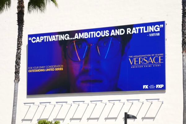 Darren Criss Assassination Versace Emmy FYC billboard