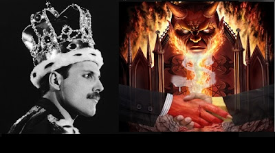 Freddie Mercury aniversario de su muerte y su pacto satánico a cambio de fama #Katecon2006