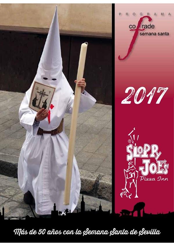 Programa, Horario e Itinerario Semana Santa Sevilla 2017: Programa de Mano Sloppy Joe´s