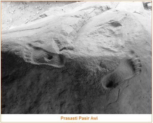 Isi dan Gambar Prasasti Pasir awi - tujuh prasasti kerajaan tarumanegara