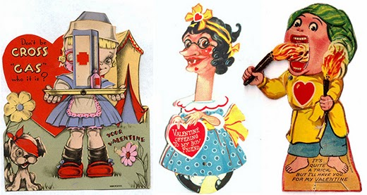 The Sell Sell Blog Weird 1920 S Valentine Cards