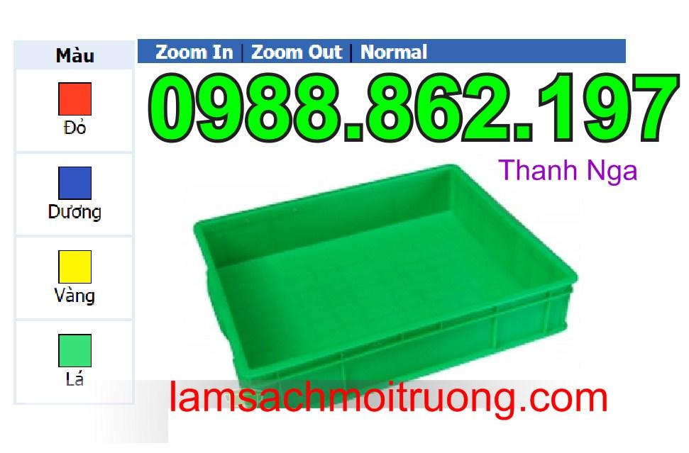 www.123nhanh.com: Thùng nhựa Hs006, thùng nhựa đặc giá rẻ, thùng nhựa công
