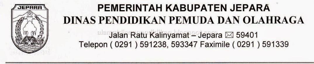 Alamat Dinas Pendidikan Kabupaten Jepara | Alamat Dinas ...
