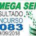 Resultado da Mega Sena concurso 2083 (29/09/2018) ACUMULOU!!!