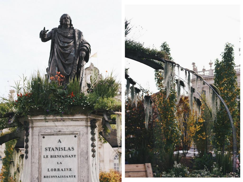 A la découverte du Jardin Ephémère de la Place Stanislas de Nancy