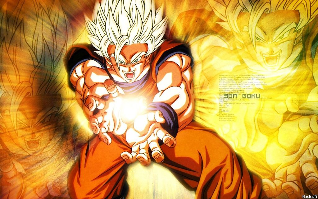 Fond d 39 cran dragon ball z sangoku fonds d 39 cran hd for Fond ecran dbz