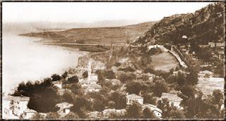 Άποψη του Δαφνούντα, του κατεξοχήν εμπορικού λιμανιού της Tραπεζούντας. Φωτογραφία του 1893.