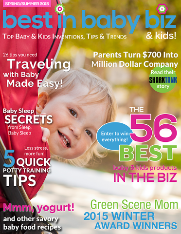 Genesis 950 was featured in the Spring/Summer 2015 Issue of Best In Baby Biz