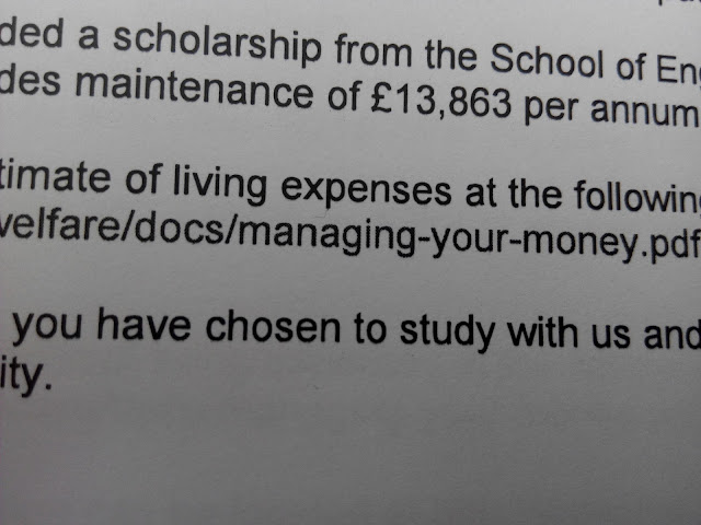 英国博士奖学金一年多少钱