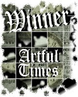 Artful Times Winner's Badge