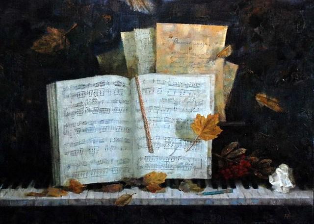 Мелодия в живописи. Елена Прудникова 11