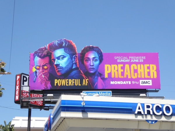 Preacher season 2 special extension billboard