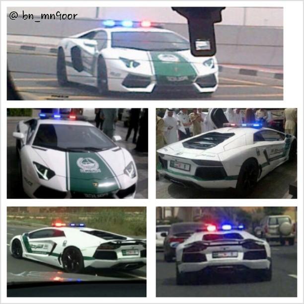 Dubai Police Aquire Aventador... Understandably