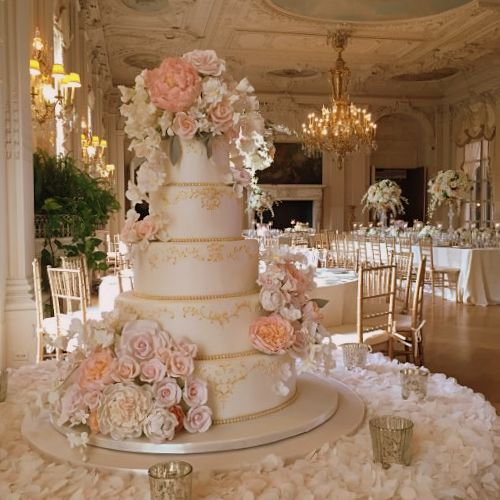 A Beautiful Summer Wedding At Rosecliff Mansion In Newport: For The Love Of Cake! By Garry & Ana Parzych