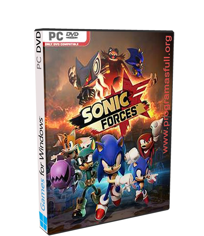 sonic forces poster box cover