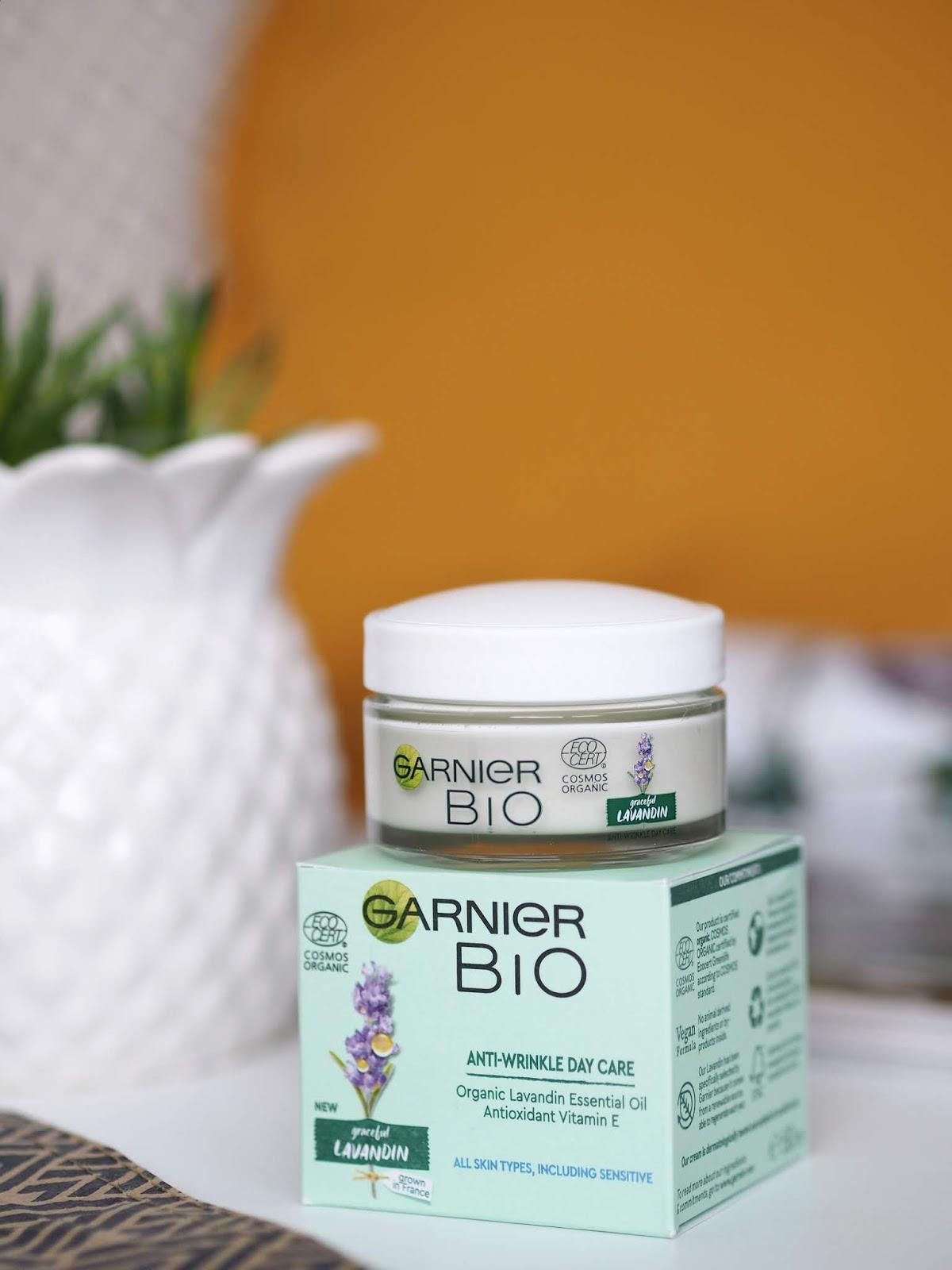 Garnier Bio Lavandin Anti-Wrinkle Day Care levanduľový krém proti vráskam