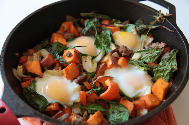 Sweet Potato Breakfast Hash - My Southern Sweet Tooth
