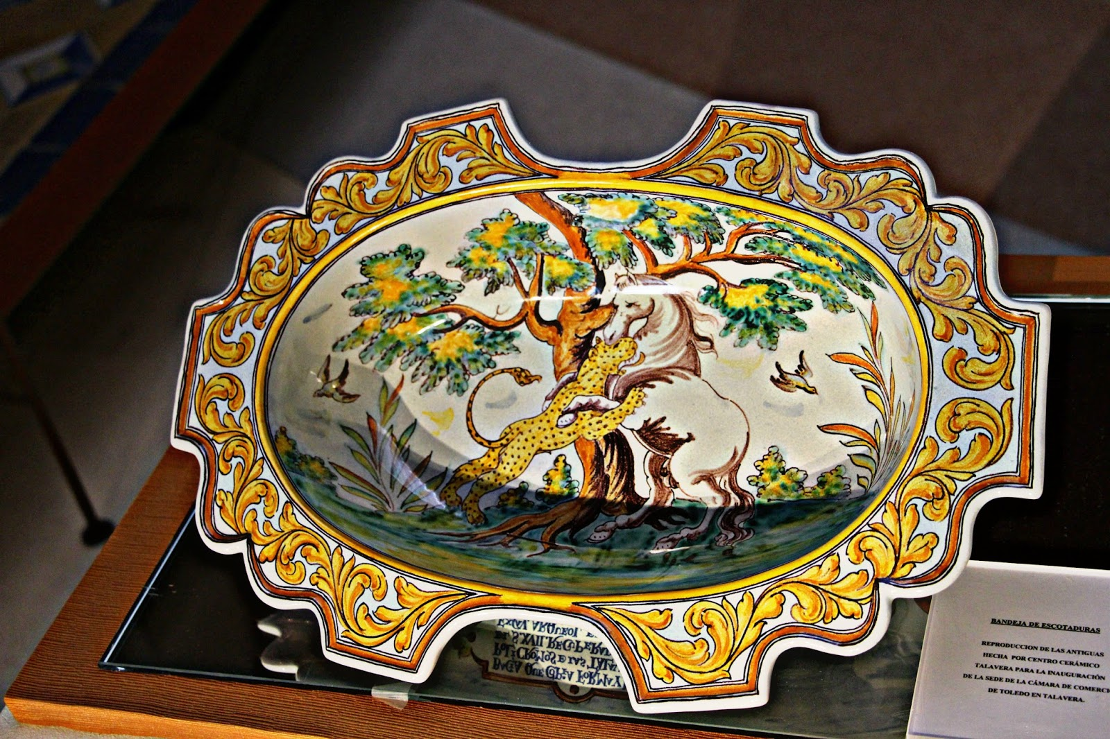 Las im genes que yo veo toledo talavera museo de la - Talavera dela reina ceramica ...