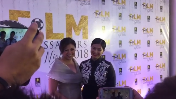 Stunning And Classy: Angel Locsin Stands Out In The Film Ambassadors' Night 2018