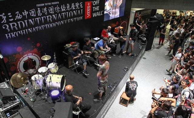 【認識藝術】10月啟德舉行 香港國際紋身展