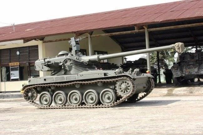 Tugas Akhir Pt Pindad Tembus Tank Baja Senapan Sniper Indonesia Gegerkan Defense Studies Tank Amx 13 Retrofit Pindad Siap Unjuk Kemampuan