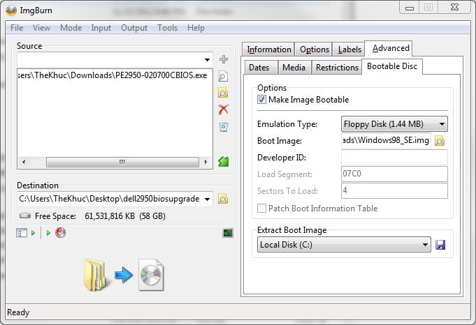 TC Khuc's Blog: Create Bootable Disk with ImgBurn