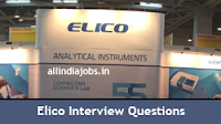 Elico Interview Questions