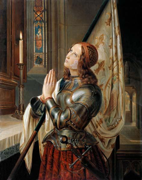 Saint du jour - Page 6 Jeanne-dArc