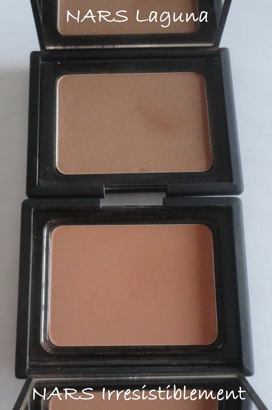 NARS Laguna VS NARS Irresistiblement - My Beauty Galleria