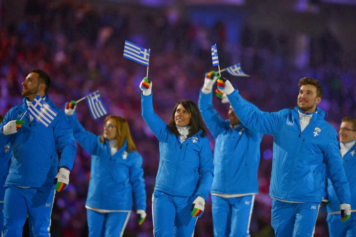 OLYMPIC STYLE....The Best Sochi 2014 Olympics Opening ...