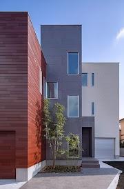 都会の平均的な土地面積で外部干渉をなるべく避ける家のイメージ