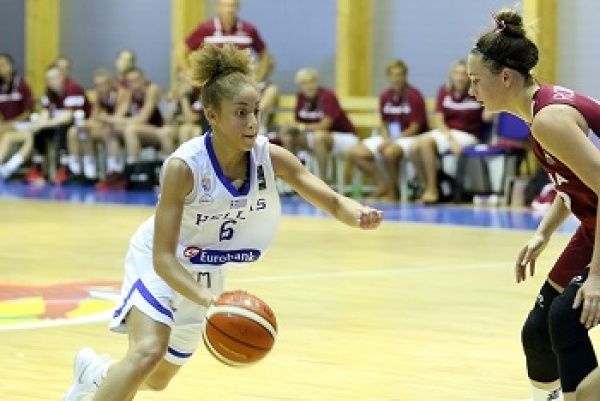 Ευρωπαϊκό Νεανίδων U18 : Ελλάδα-Λετονία 62-71
