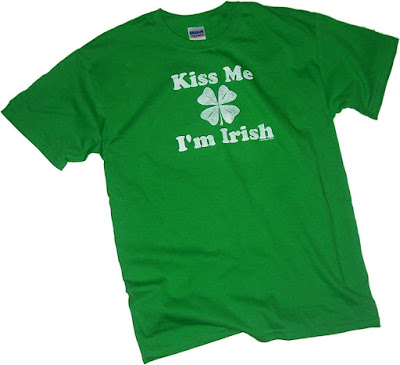 St Patrick's Day 2018 Kiss Me, I'm Irish T Shirt