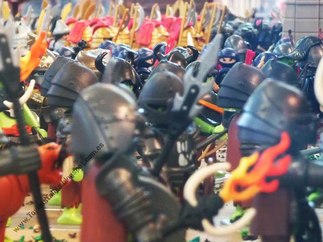 Diorama Playmobil El Señor de los Anillos
