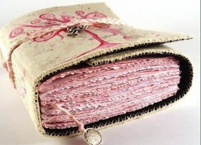 информация о блокнотах. как делать, с чего начать. Плетение капталов.