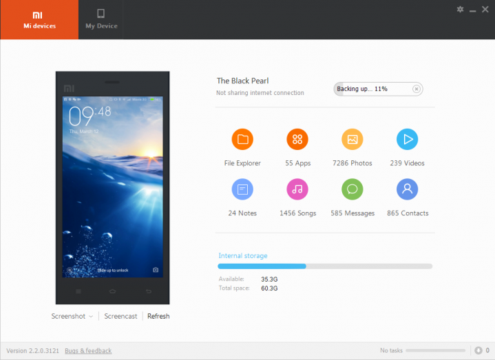 Download Xiaomi PC Suite for Mi and Redmi Note Mobile - Android Zone