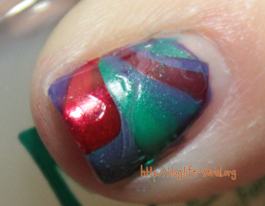 The One With Fail Art Thursday Watermarble