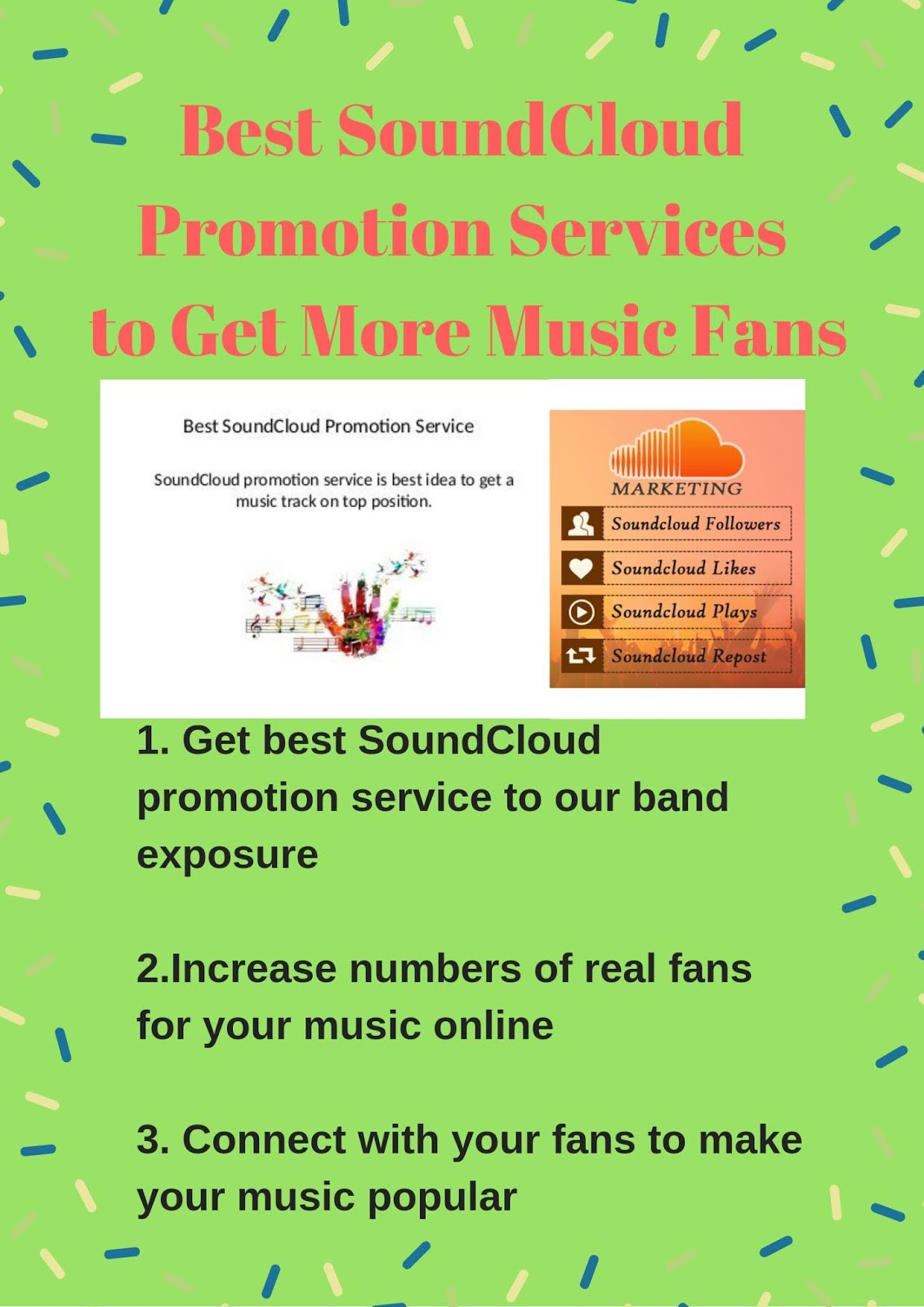 Summary -> Free Soundcloud Promotion Services Promote Your Music