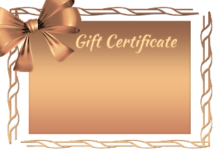 gift certificate for festivals