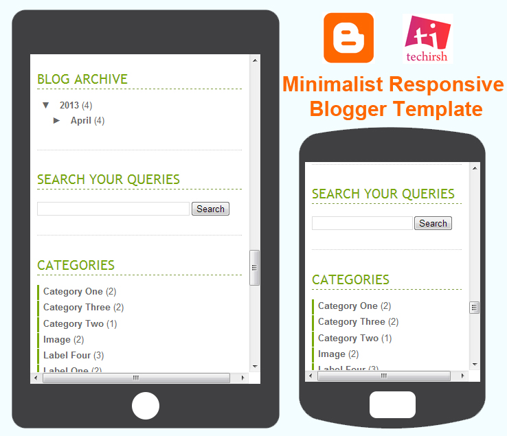responsive blogger template for mobile
