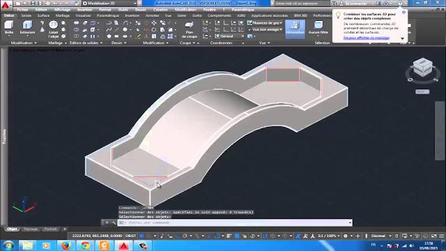 كتاب شرح الاوتوكاد 3d ثلاثي الأبعاد Autocad 3D مجاناً PDF