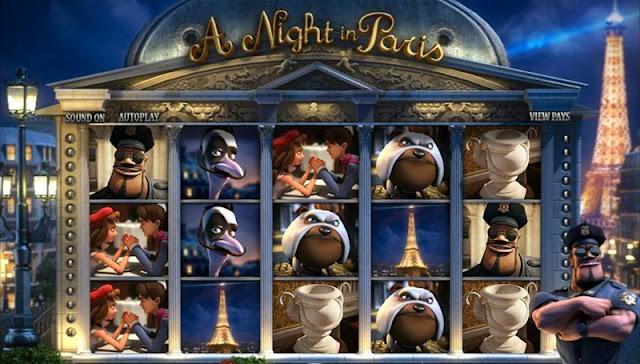 A Night in Paris Casino game