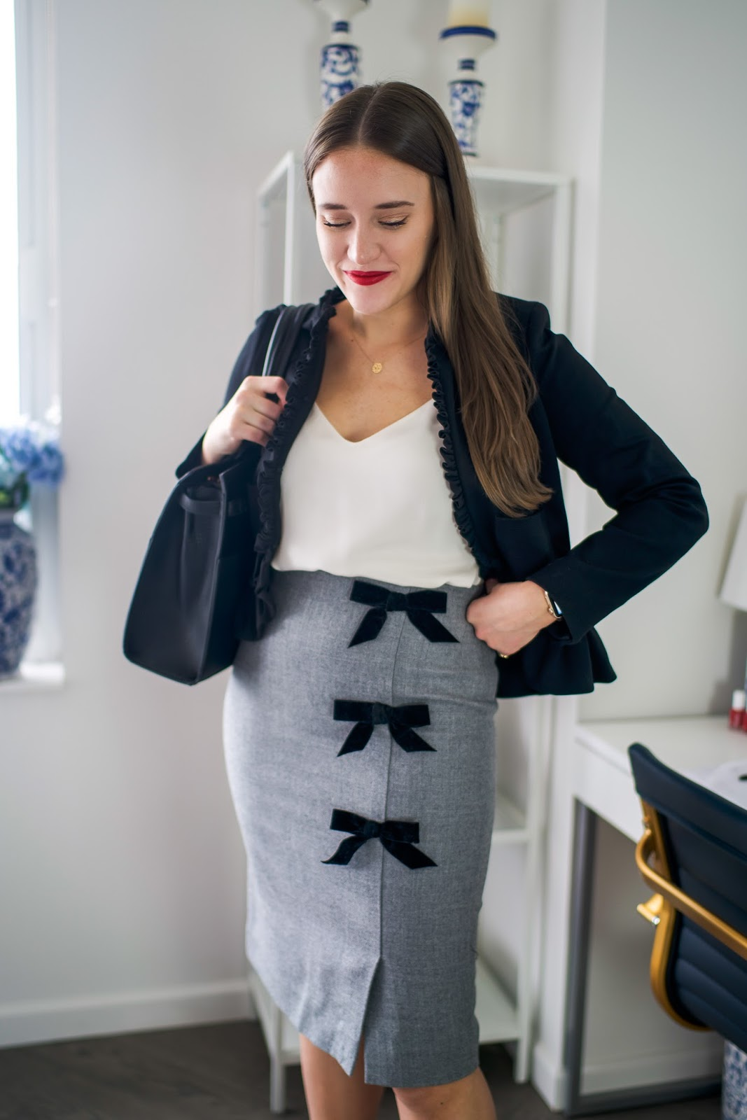 Dress to Impress for the Office by popular New York fashion blogger Covering the Bases