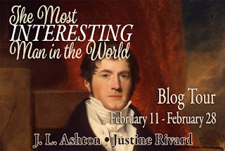 Blog Tour - The Most Interesting Man in the World by J L Ashton and Justine Rivard