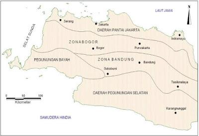 Fisiografi Daerah Jawa Barat