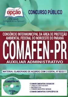 Apostila Concurso COMAFEM 2018 Auxiliar Administrativo