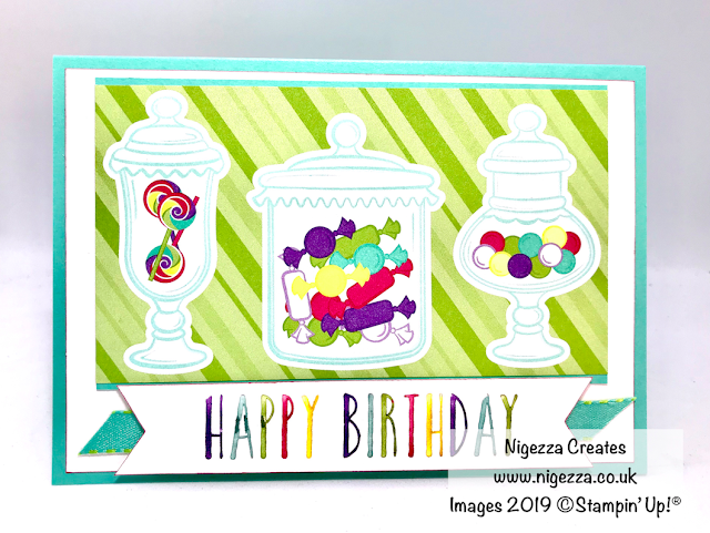 How Sweet It Is Stampin Up