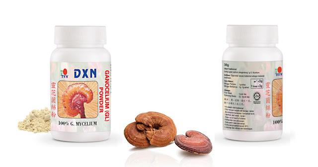 GL en polvo: Ganocelium en  polvo. Proporciona flexibilidad en términos de cantidad de dosificación. Ingrediente de polvo GL: *Mycelium Ganoderma Lucidum.